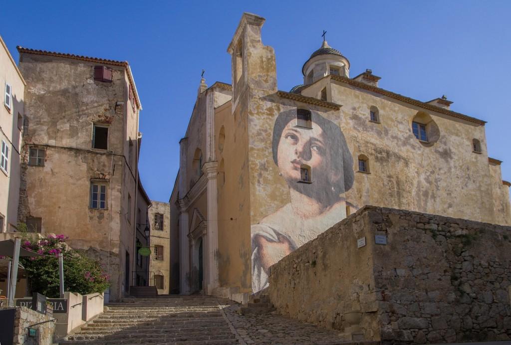 Eglise de Calvi en Corse