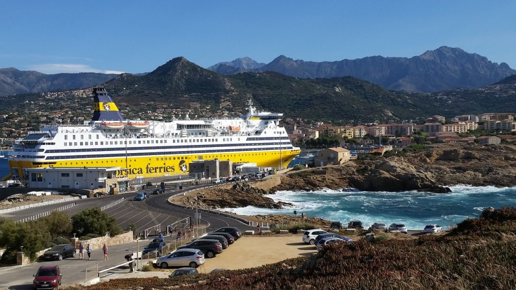 Ile Rousse ferry corse