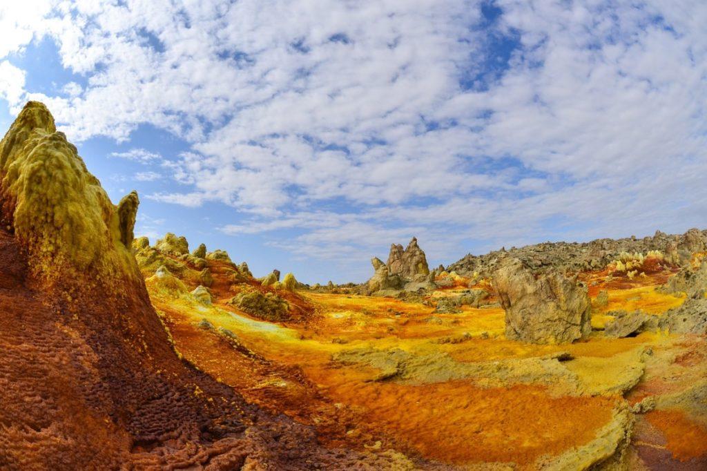 Le désert de Danakil