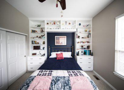 aménagement petit chambre