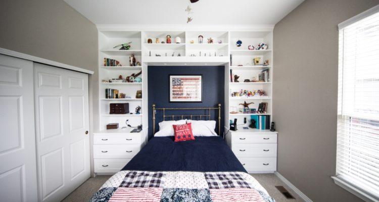 Idées d\'aménagement et décoration pour une petite chambre à ...