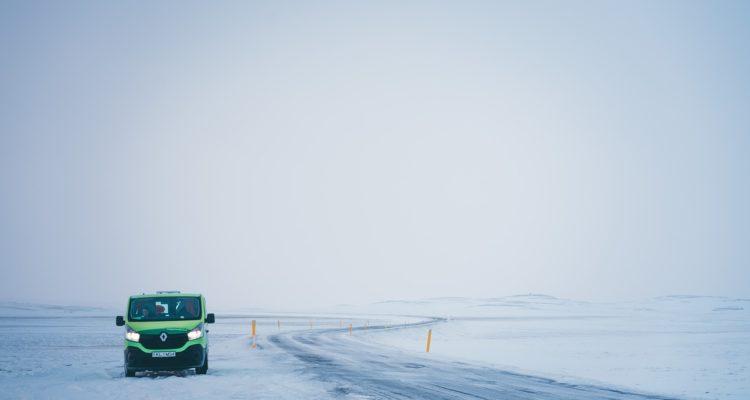 camion location en hiver