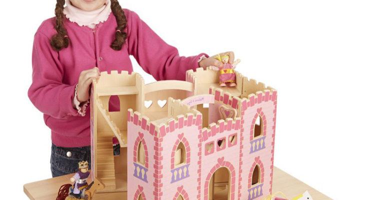 chateau et figurine