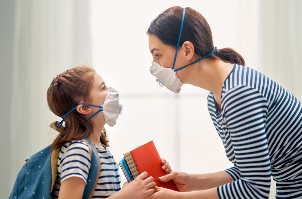 enfants et masques