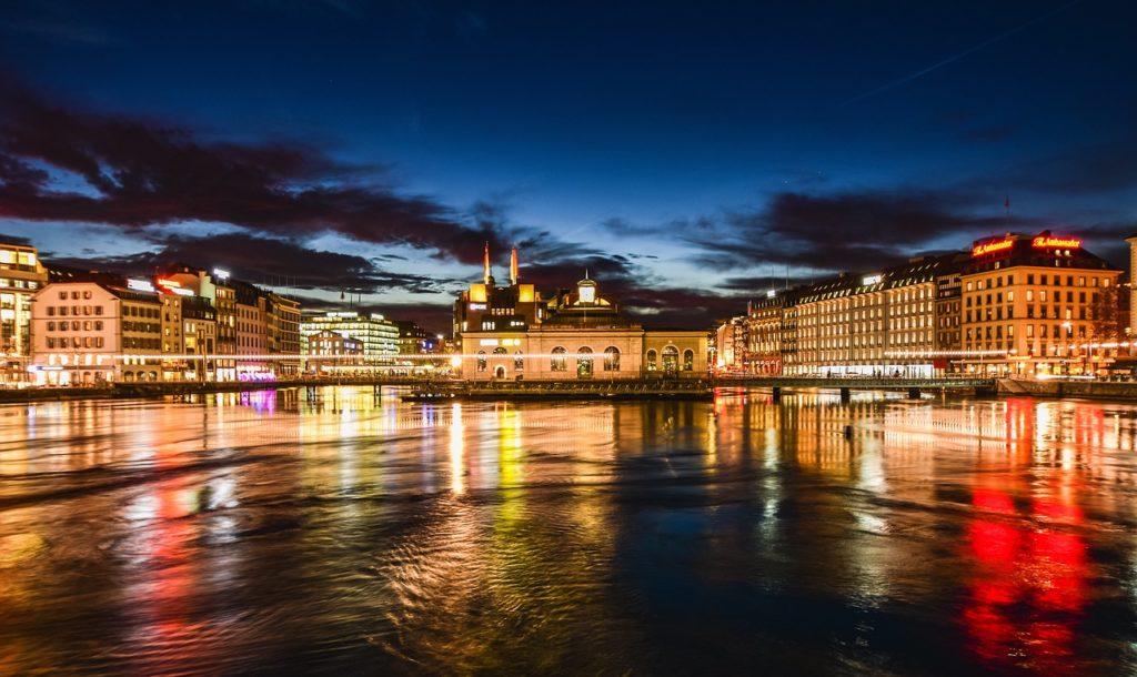 Genève nuit
