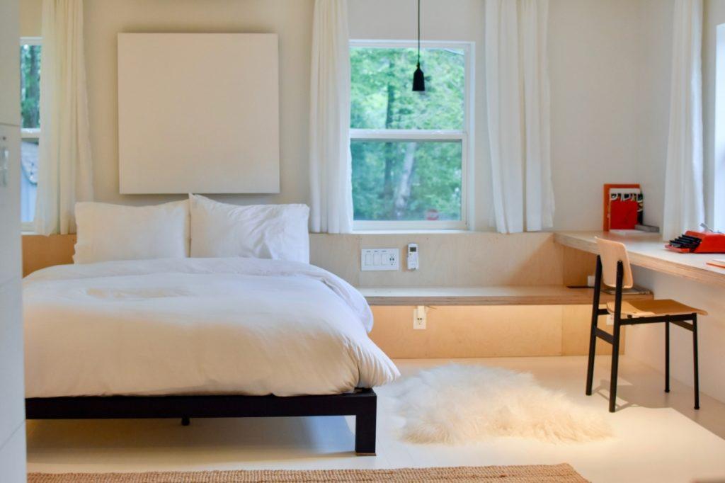 idées décoration petite chambre à coucher