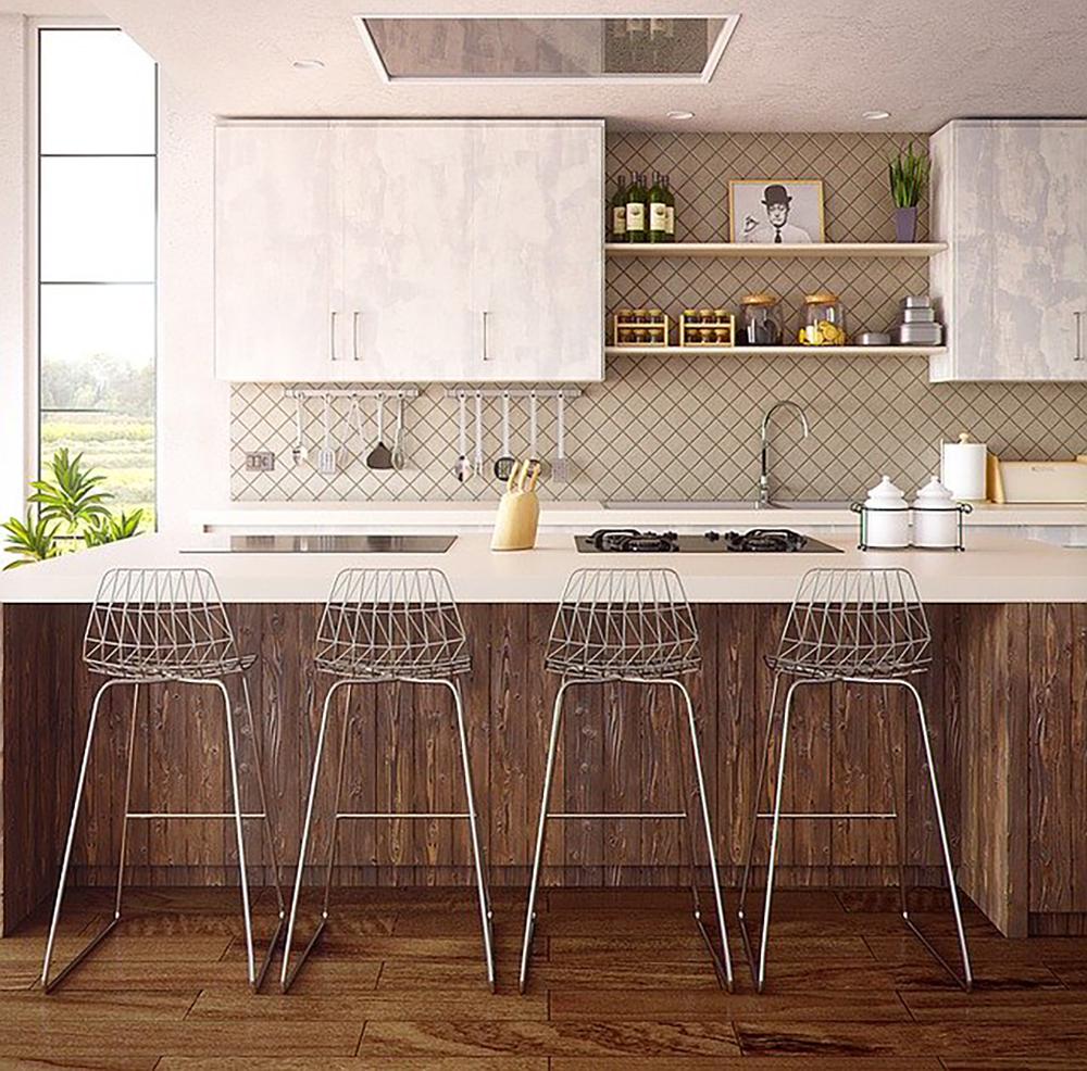 optimisation de l'espace dans une cuisine