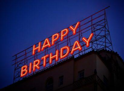 oragnisation d'un anniversaire