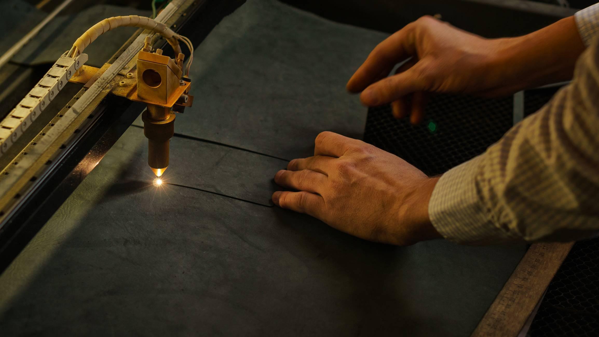 découpe textile industrielle