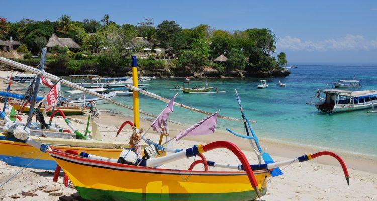 plage îles Gili