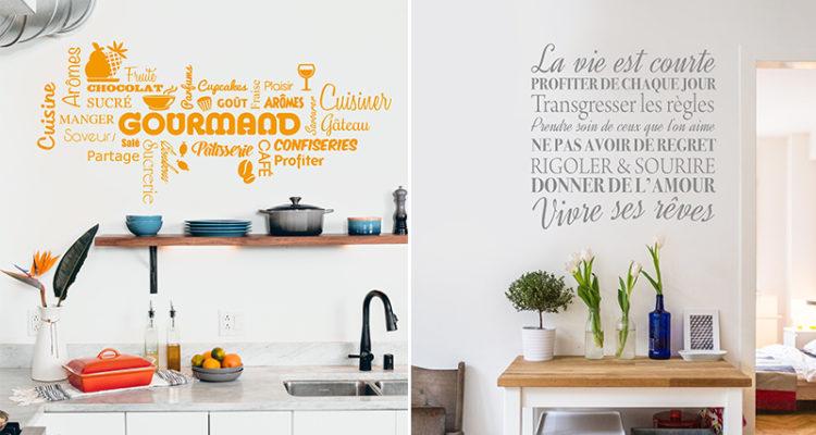 Puisse cette maison Wall Art Autocollant Mural Citation Murale Autocollant Chambre Décoration Transfert