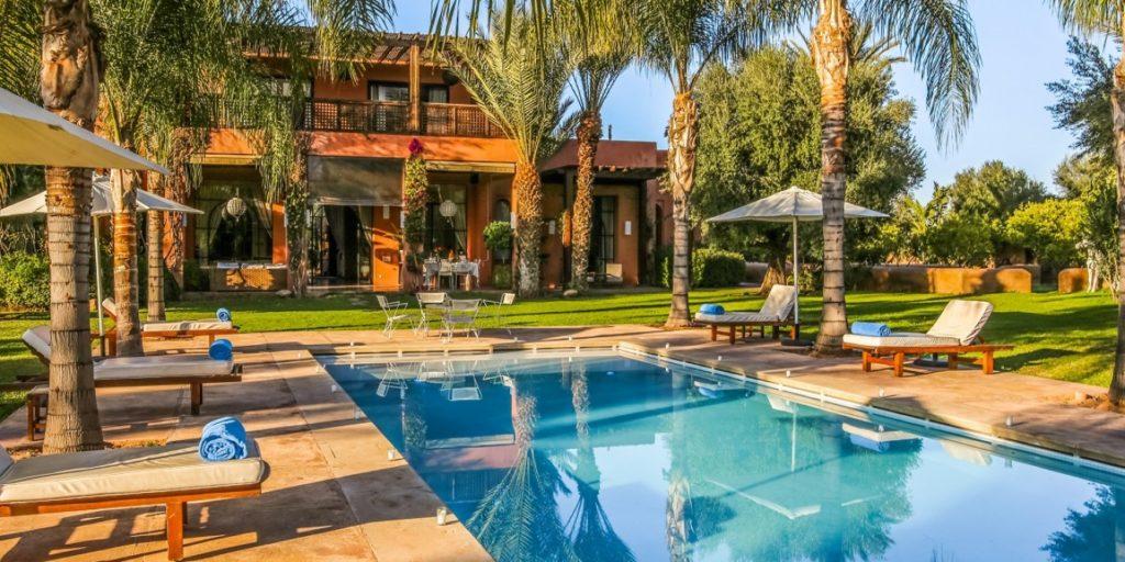 villa jardin nomade marrakech